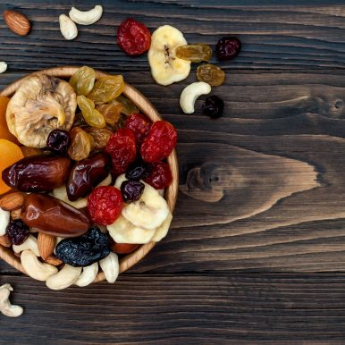 Bowl of Fruits & Nuts