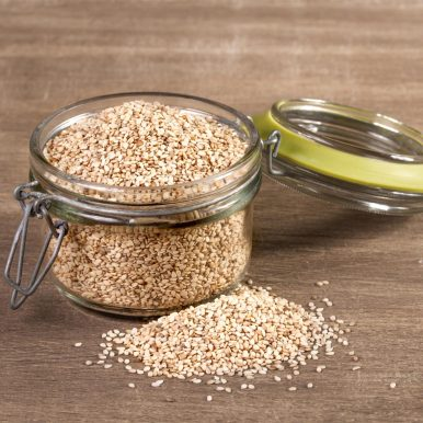 Jar of Sesame Seed