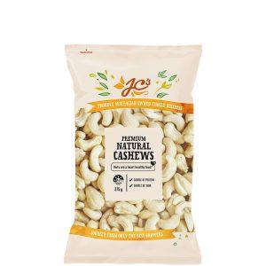 Natural Cashews 375g