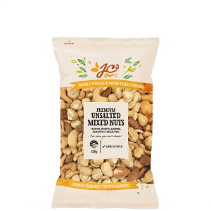 Mixed Nuts Unsalted Premium 350g