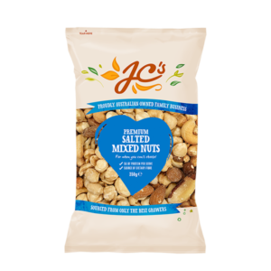 Jc's Premium Salted Mixed Nuts