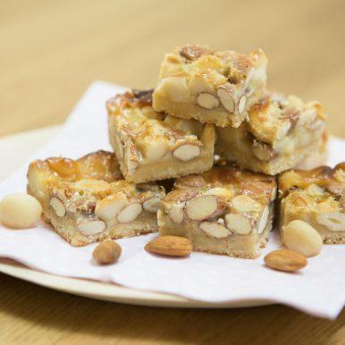 JC's Sweet Nut Slice Recipe