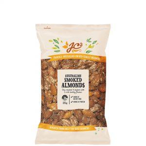 Almonds Smoked 375g