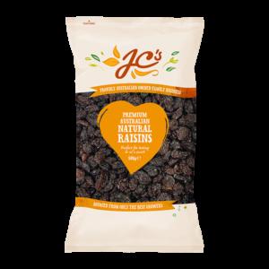 JC's Natural Raisins