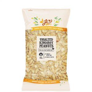 Australian Unsalted Peanuts 500g