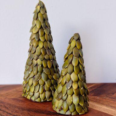 Chocolate Pepita Christmas Trees