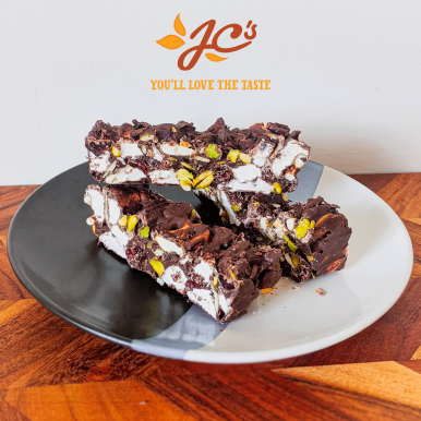 Easy Rocky Road with Pistachios