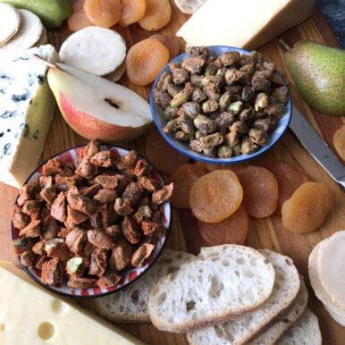 JC's Spiced Pistachios Recipe Close up
