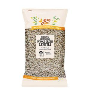 JC's Whole Green Lentils